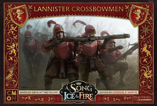 House Lannister Crossbowmen: A Song Of Ice and Fire Expansion