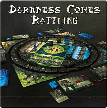 Darkness Comes Rattling - Board Games