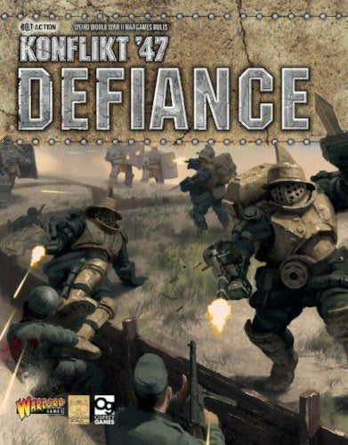 Konflikt '47 Defiance Expansion Book