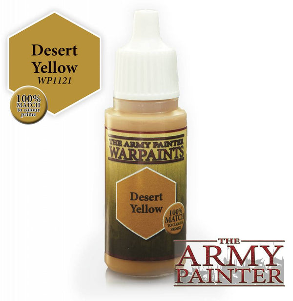 Warpaint - Desert Yellow - 18ml