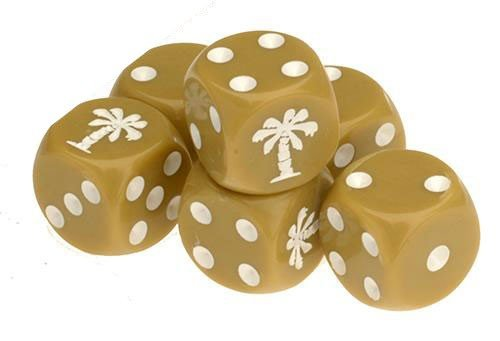 TANKS German Afrika Korps Dice Set