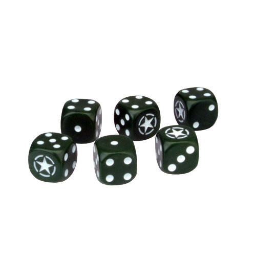TANKS US Army Dice Set