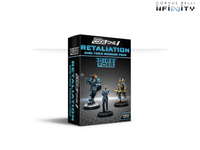 Infinity Dire Foes Mission Pack Alpha: Retaliation Convention Exclusive - 280031-0821 1