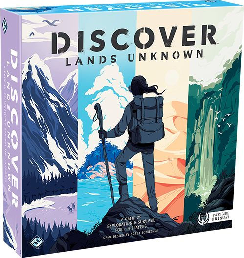 Discover: Lands Unknown Board Game