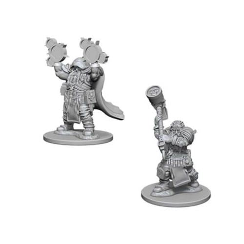 Nolzur's Marvelous Miniatures: Dwarf Male Cleric Blister Pack (Wave 1)