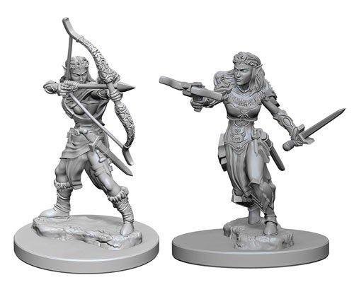 Nolzur's Marvelous Miniatures: Elf Female Ranger Blister Pack (Wave 1)