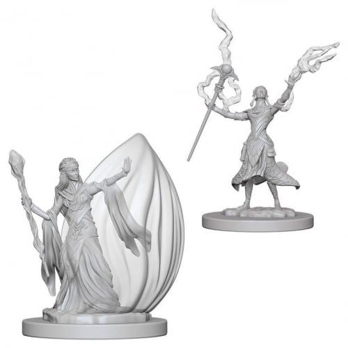 Nolzur's Marvelous Miniatures: Elf Female Wizard Blister Pack (Wave 3)