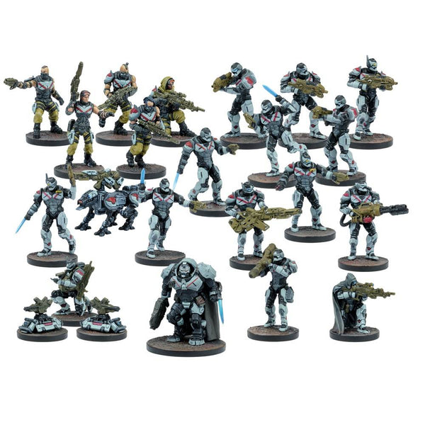 Deadzone / Warpath: Enforcer Faction Starter Army Box Set
