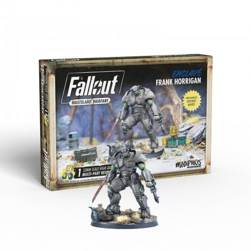 Enclave Frank Horrigan - Fallout Wasteland Warfare