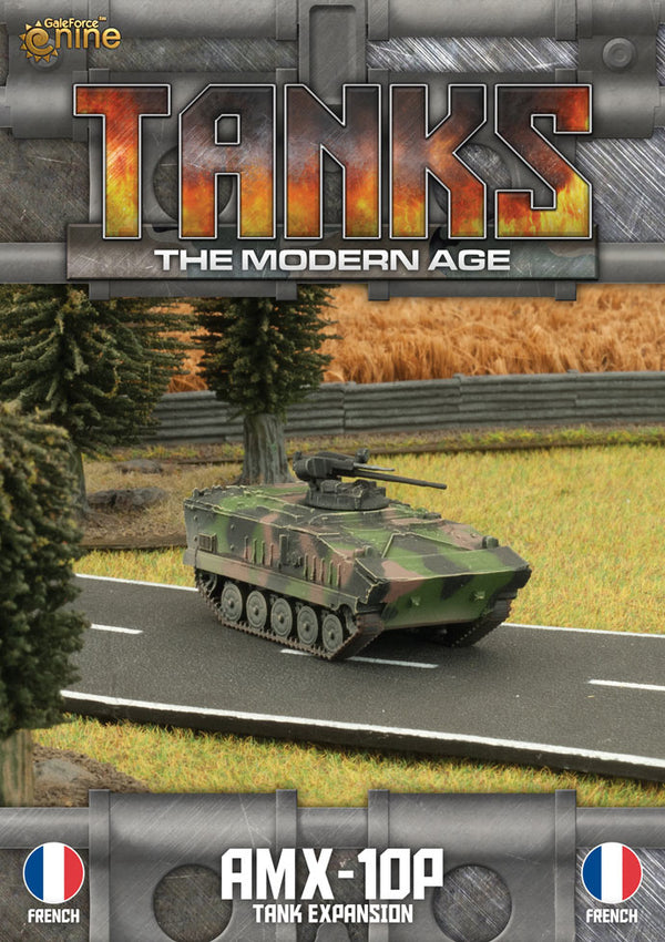 Modern Age: French Amx10 Tank Expansion