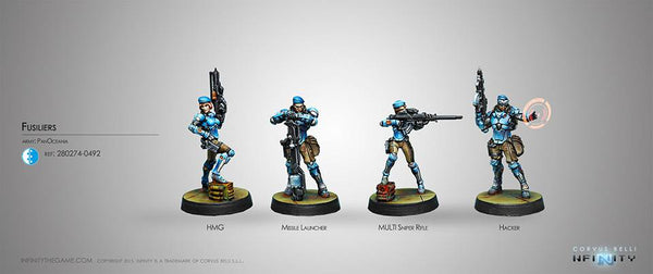 Panoceania Fusiliers Box Set