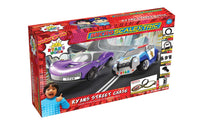Micro Scalextric Ryans World Street Chase Battery Powered Race Set 2