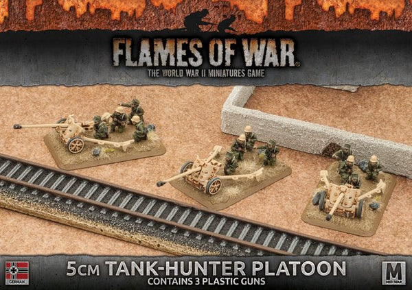 German Afrika Korps: 5cm Tank-Hunter Platoon