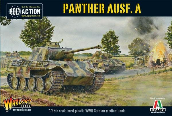 German Panther Ausf A Tank