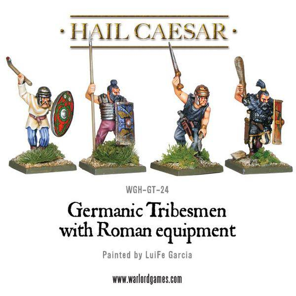 Enemies Of Rome Germanic Tribesman With Roman Equipment Pack