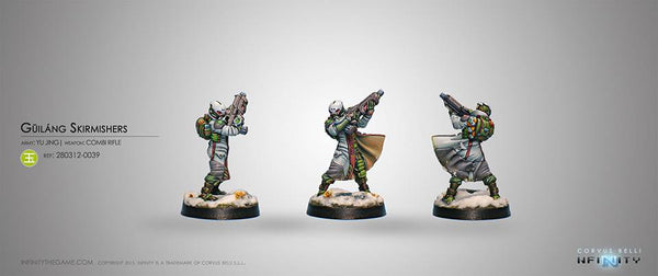 Yu Jing Guilang (Ghost Wolves) (Combi Rifle)Blister Pack