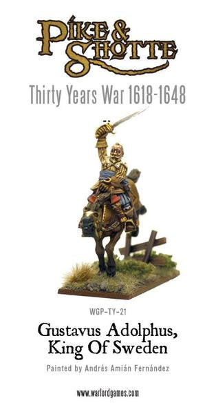 30 Years War 1618-1648 Gustavus Adolphus - King Of Sweden Pack