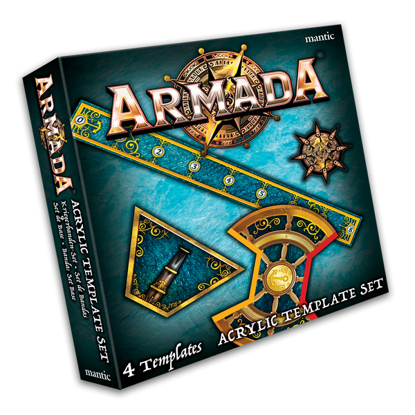 Armada Acrylic Template set - Kings Of War