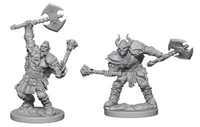 Pathfinder Deep Cuts: Half-Orc Male Barbarian Blister Pack (Wave 3)