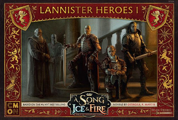 House Lannister Heroes 1: A Song Of Ice and Fire Expansion