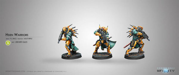 Yu Jing Hsien Warriors  (MULTI Rifle) Blister Pack