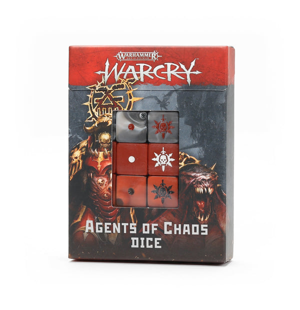 Agents Of Chaos Dice - Age Of Sigmar Warcry