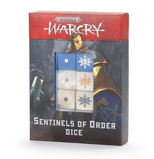 Sentinels Of Order Dice - Age Of Sigmar Warcry