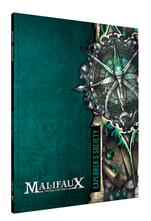 Explorer's Society Faction Book - Malifaux