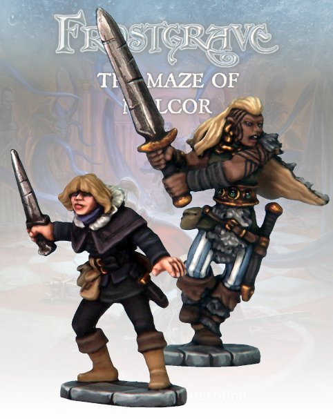 Thief & Barbarian II - Frostgrave