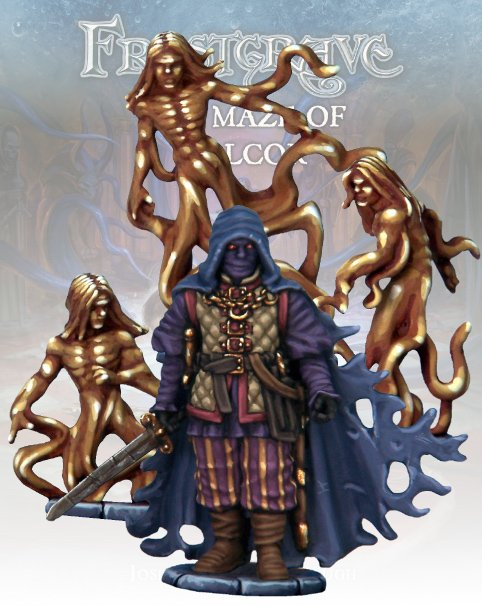 The Wraith of Malcor & Advisory Council - Frostgrave