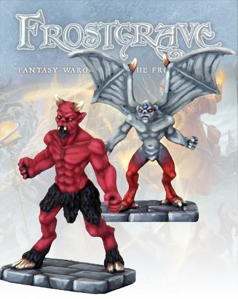 Imp Demon & Minor Demon - Frostgrave