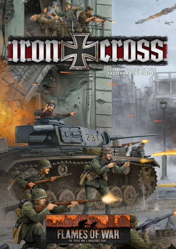 German Iron Cross Rule Book