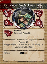 Jade Mamba Guard - Ito Clan 2