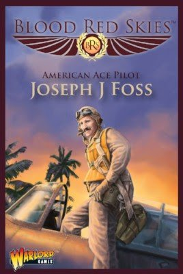 US  Army Joseph J Foss Wildcat Ace