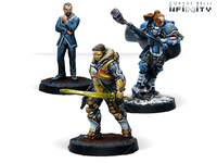 Infinity Dire Foes Mission Pack Alpha: Retaliation Convention Exclusive - 280031-0821 2