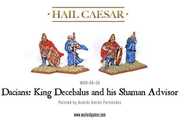 Enemies Of Rome King Decebalus & Shaman Advisor Pack