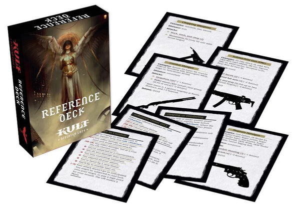 KULT: Divinity Lost - Reference Deck