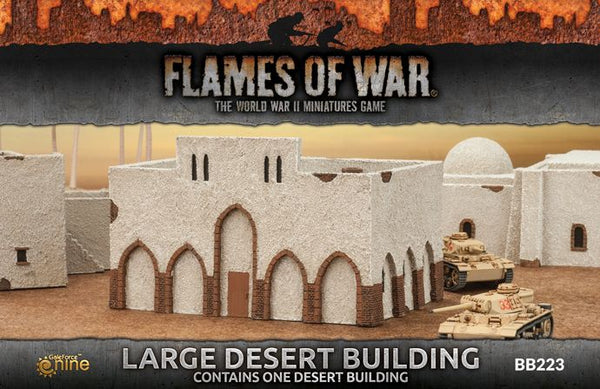 Large Desert Building Scenery