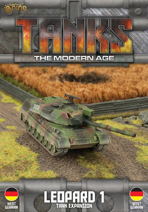 Modern Age: German Leopard 1 Tank Expansion
