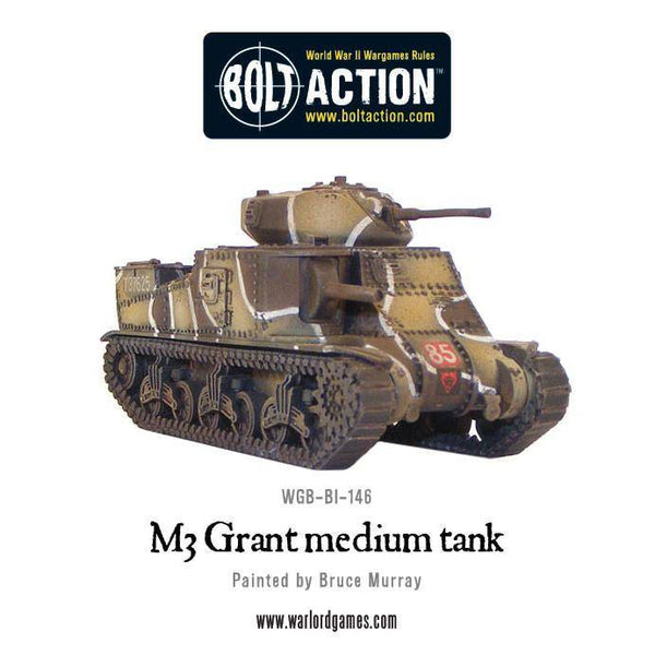 British M3 Grant (Western Desert) Box Set