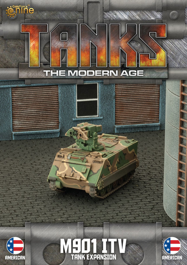 Modern Age: US M901 Itv/M163 Vads Tank Expansion