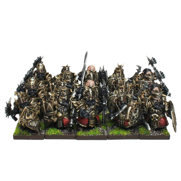 Blacksouls Regiment - Abyssal Dwarfs