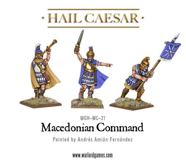 Aegean States Macedonian Command Pack