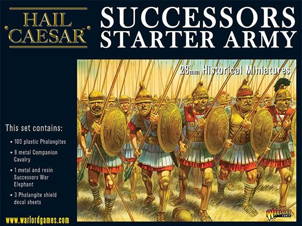 Aegean States Macedonian Successor Starter Army Box Set