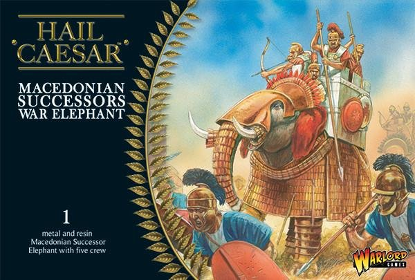 Macedonian Successor War Elephant - Hail Caesar