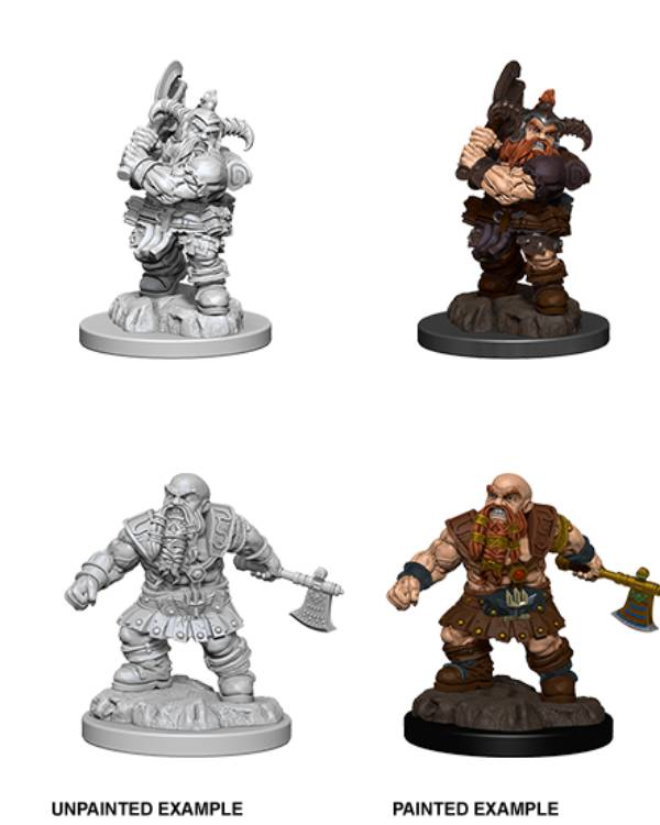 Male Dwarf Barbarian (Wave 6) - Nolzurs Marvelous Miniatures