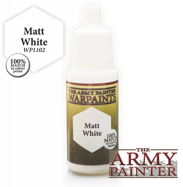 Warpaint - Matt White  - 18ml