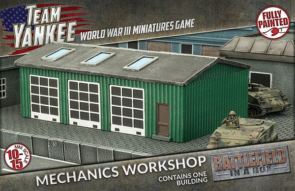 Mechanics Workshop Scenery Set
