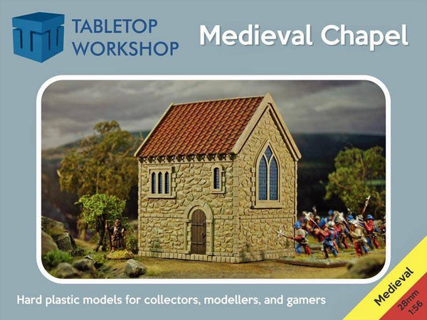Tabletop Workshop Medieval Chapel - 28MEDCHAP