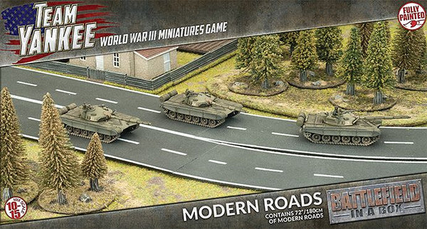 Modern Roads Scenery Set